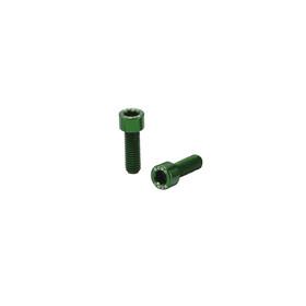KCNC Torx Flaschenhalterschrauben grün